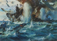 the battle of the coral sea by james milton sessions