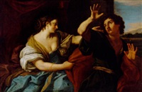 joseph and potiphar's wife by jan (pan) von lis