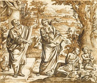 the expulsion of hagar by italian school-roman (17)