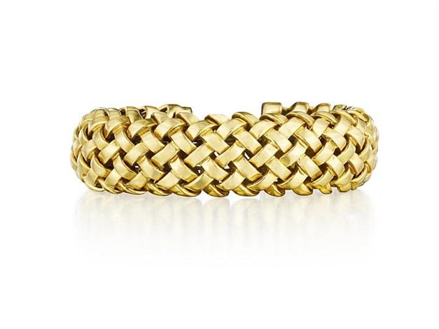 vannerie bracelet by tiffany company