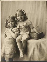 les deux fillettes by léonard misonne