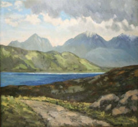 near delphi connemara by mabel young