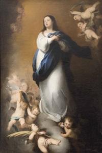 inmaculada concepción niña by bartolomé esteban murillo