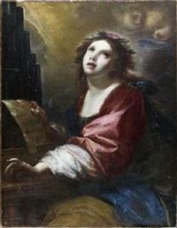 sainte cécile by simone pignoni