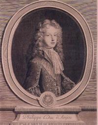 philippe duc d'anjou by gérard edelinck