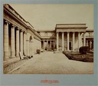 cour du palais de la légion d'honneur by jean victor andrieux