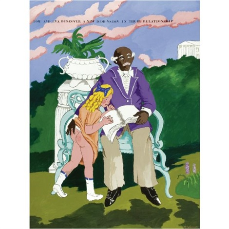 tom and eva thank you staffordshire by robert h colescott