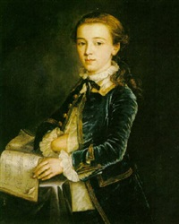 portrait of a young boy by cosmo alexander