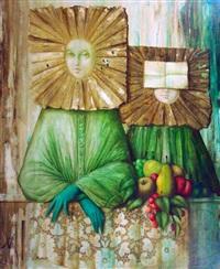 femmes masquées by philippe augé