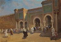 porte bâb el mansour à meknès by dario mecatti