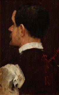portrait de belmiro de almeida by antonio ramalho