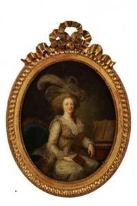 portrait de madame elisabeth by adélaïde labille-guiard