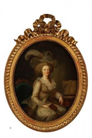 portrait de madame elisabeth by adélaïde labille guiard