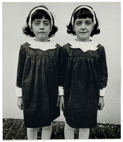 identical twins roselle new jersey by diane arbus