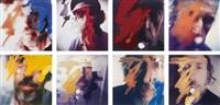 eight self-portraits (set of 8) by richard hamilton