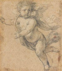 putto by michel corneille