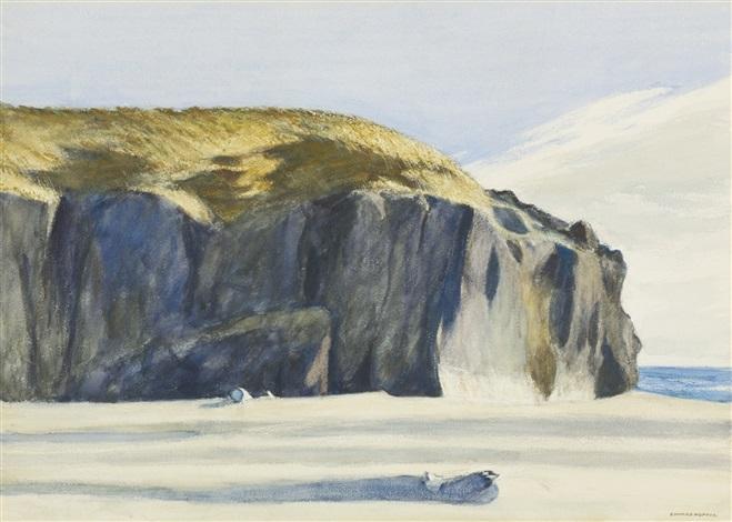 oregon coast by edward hopper