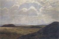 weite landschaft by hans mortensen agersnap