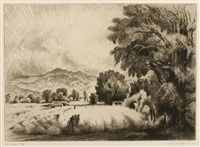 the wheat field by gene kloss
