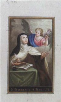 hl. theresia von jesus (von avila) by maria (archduchess) amalia