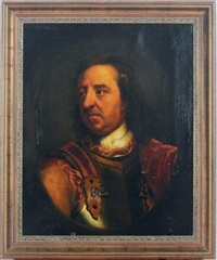 portrait of oliver cromwell by william dobson