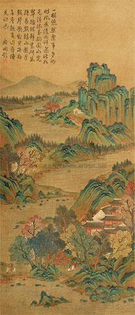 秋山雨霁 by qiu ying