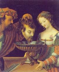 salome mit dem haupt johannes des täufers by andrea solario