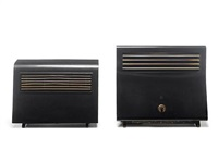 thermovent space heater (+ another, smllr; 2 pieces) by wells coates