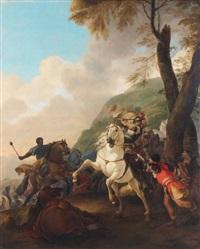 choc de cavalerie by herman van lin