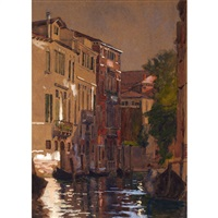 venetian canal by william brymner