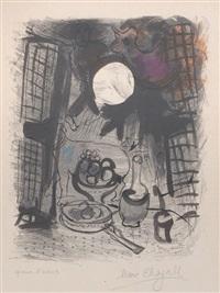 stillleben in braun by marc chagall