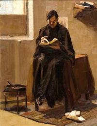 reading by vasilis germenis