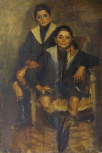 les deux enfants by roman kramsztyk