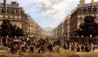 avenue de l'opéra by le poitevin