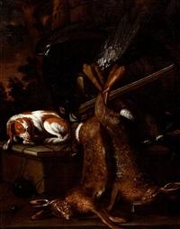 trophée de chasse by johannes gysbert vogel the elder