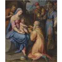 the adoration of the magi by lorenzo sabatini