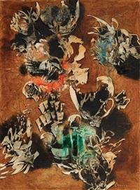 kompozycja abstrakcyjna by alfred lenica