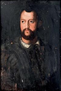 portrait de côme de médicis by agnolo bronzino