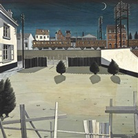 faubourg by paul delvaux