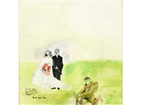 bride and groom by dame beryl margaret bainbridge