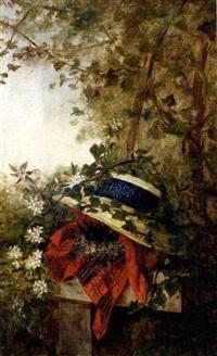 pamela con nido de pájaros by adela ginés y ortiz
