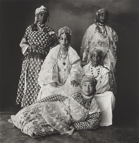 five moroccan women by irving penn