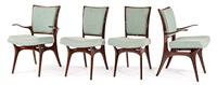 dining chairs (4) (model 175a (side chairs)) by vladimir kagan