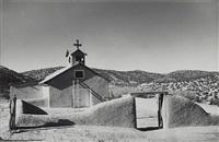 church at cundiyo, new mexico by laura gilpin