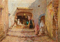 rue du sphinx, algers by addison thomas millar