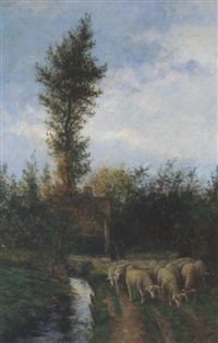 am heimweg by franz de vadder