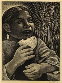 bread (derecho alimentarse) by elizabeth catlett
