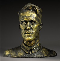 portrait bust of t.e. lawrence by eric henri kennington
