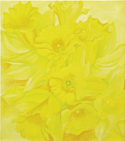 yellow jonquils iv by georgia okeeffe