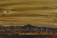 australian landscape by stanislaus ivan rapotec